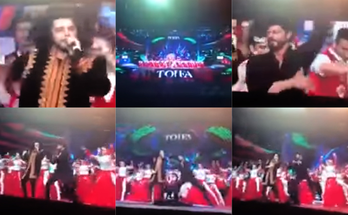 Shah Rukh Khan's Performance On Arabic FAN Song Anthem At TOIFA Award