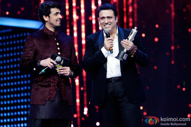 Sonu Nigam and Govinda at 8th Mirchi Music Awards