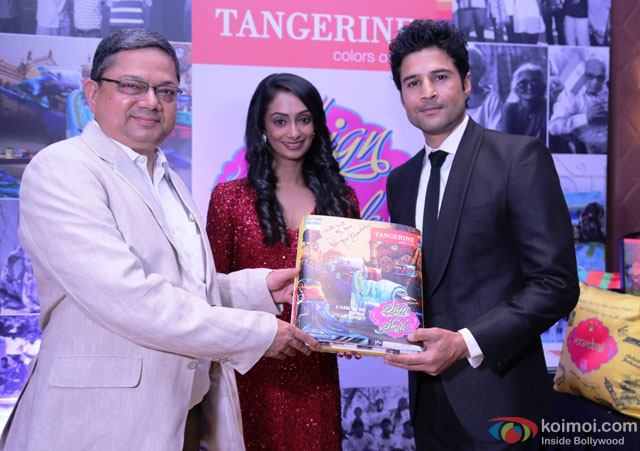 Rajeev Khandelwal during the event to help India's old folks by Tangerine