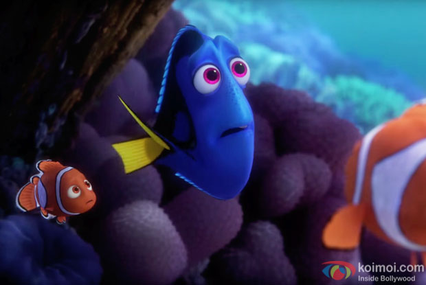 A still from Finding Dory