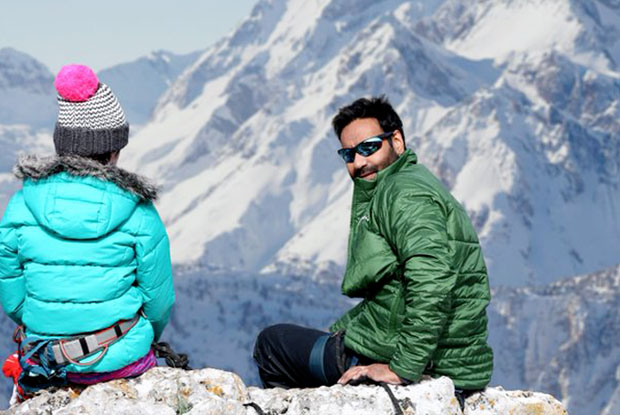 Catch Ajay Devgn's New Pic From The Sets Of Shivaay