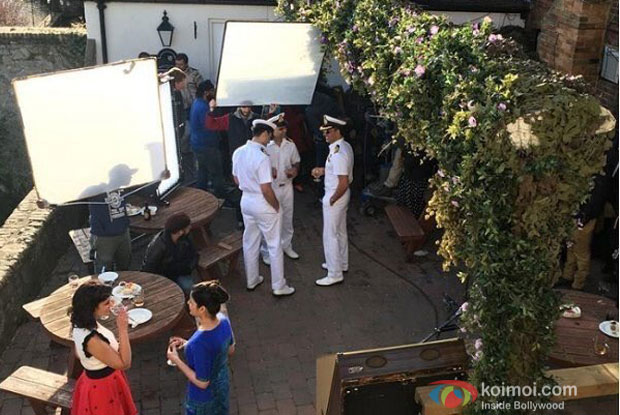 Akshay Kumar Spotted In A Naval Uniform On The Sets Of Rustom