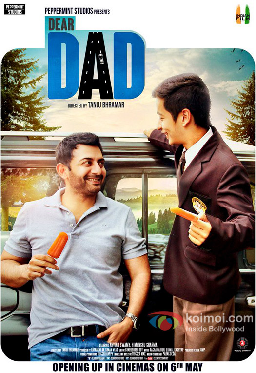 Dear Dad Poster| Featuring Arvind Swami & Himanshu Sharma