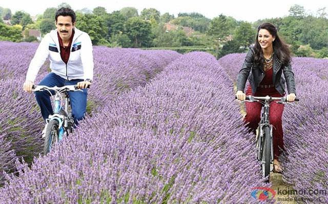Emraan Hashmi and Nargis Fakhri in a still from movie 'Azhar'