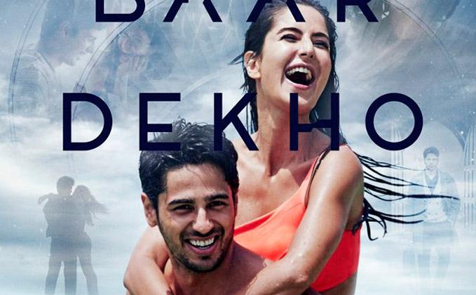 Catch The Refreshing First Poster Of Baar Baar Dekho Starring
