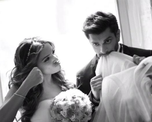 Bipasha Basu and Karan Singh Grover at their pre-wedding photoshoot