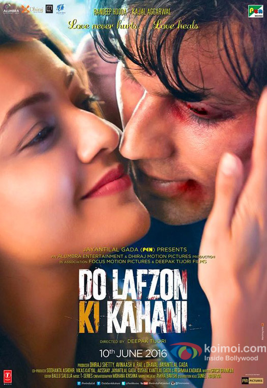 New Poster Of Do Lafzon Ki Kahani, Ft. Randeep Hooda & Kajal Aggarwal
