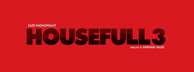 The Official Logo Of Akshay Kumar's Housefull 3