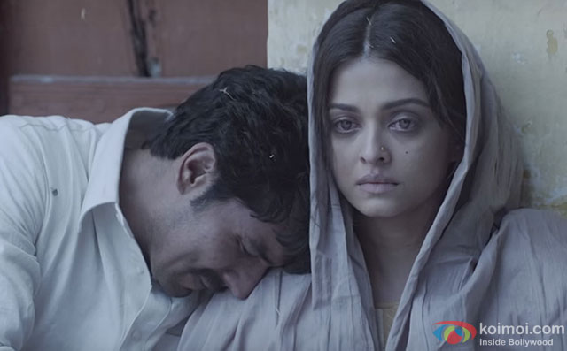 Randeep Hooda and Aishwarya Rai Bachchan in a 'Dard' Song still from movie 'Sarbjit'