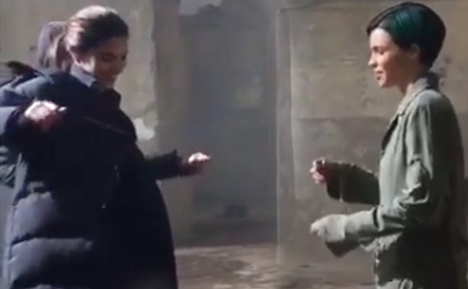 When Deepika Taught Ruby Rose How To Groove On A Honey Singh Song!