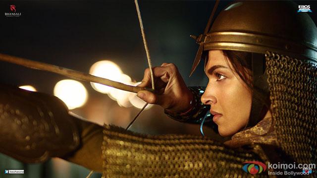 Deepika Padukone in a still from movie Bajirao Mastani