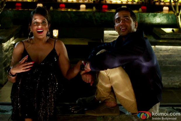 Richa Chadha and Gulshan Devaiah in a Do Anjaane song still from Cabaret