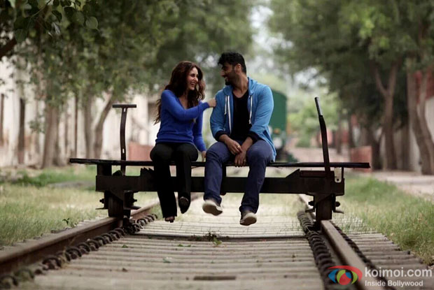 Kareena Kapoor Khan and Arjun Kapoor in a still from Ki And Ka