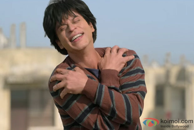 Shah Rukh Khan in a still from movie Fan