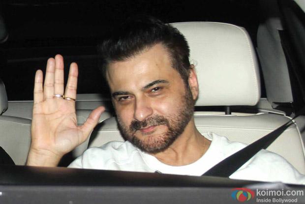 Sanjay Kapoor Snapped at Manish Malhotra's Party!