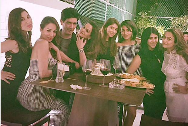 Sophie Choudry, Malika Arora Khan, Ekta Kapoor and Amrita Arora Snapped at Manish Malhotra's Party!