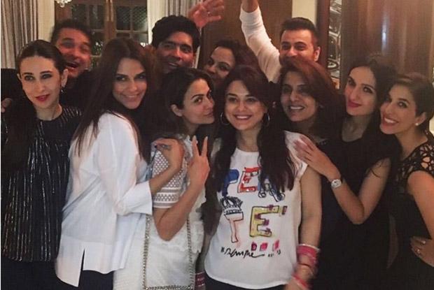 Karishma Kapoor, Neha Dupia, Neetu Singh, Sophie Choudry and Amrita Arora Snapped at Manish Malhotra's Party!