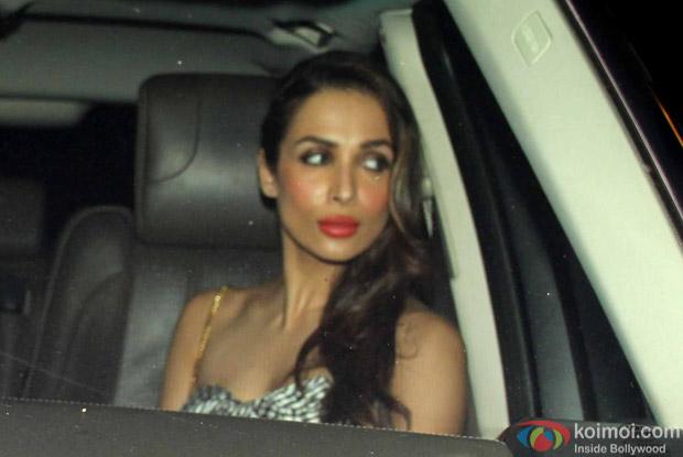 Malika Arora Khan Snapped at Manish Malhotra's Party!