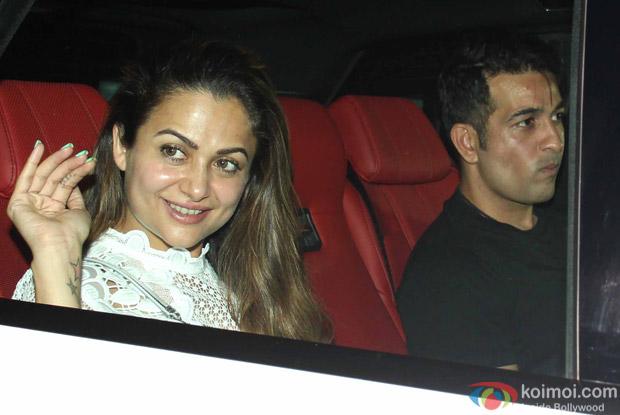 Amrita Arora Snapped at Manish Malhotra's Party!