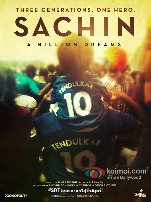 The New Poster Of Sachin Tendulkar's Biopic Is Emotionally Perfect