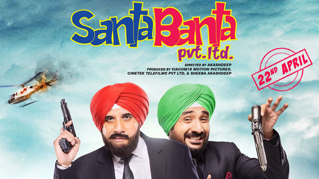 Santa Banta Pvt Ltd Movie Poster