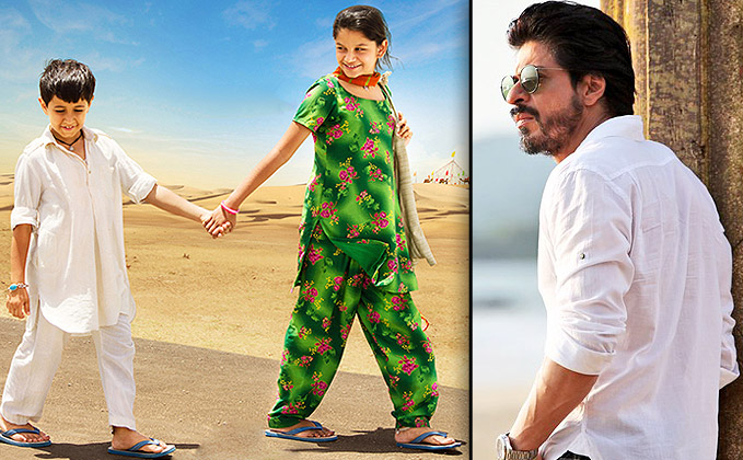Touched SRK Sends Best Wishes To Dhanak's Star Kids