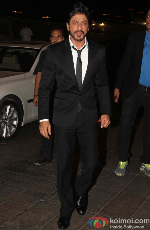 Shah Rukh Khan during the success party of Kapoor & Sons
