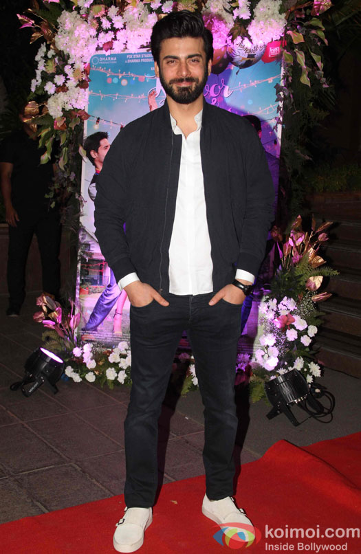 Fawad Khan during the success party of Kapoor & Sons