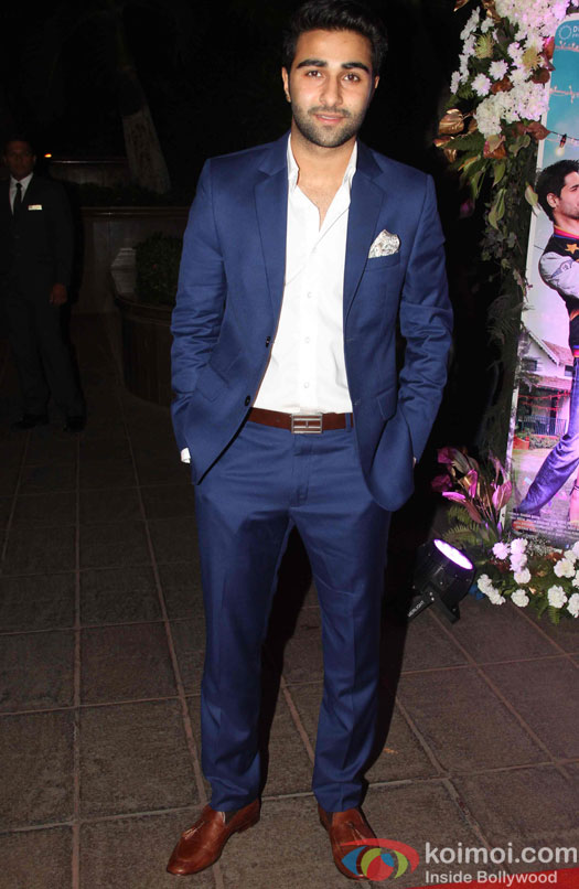 Armaan Jain during the success party of Kapoor & Sons