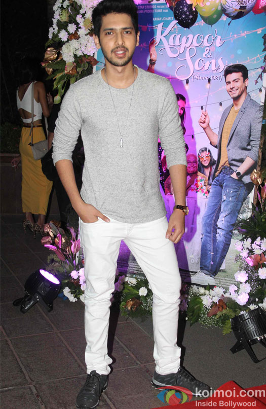 Armaan Malik during the success party of Kapoor & Sons