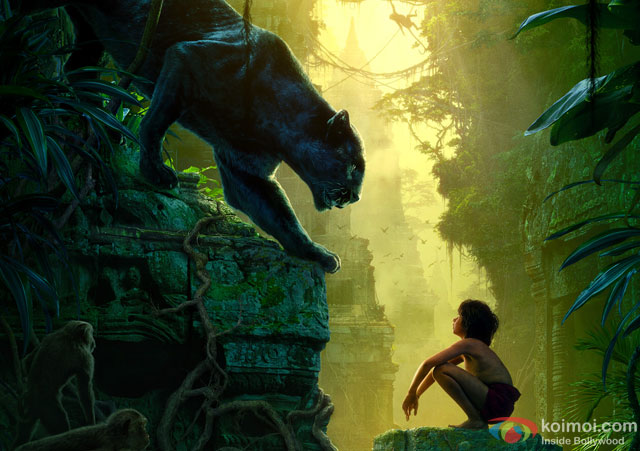 Neel Sethi in a still from movie 'The Jungle Book'