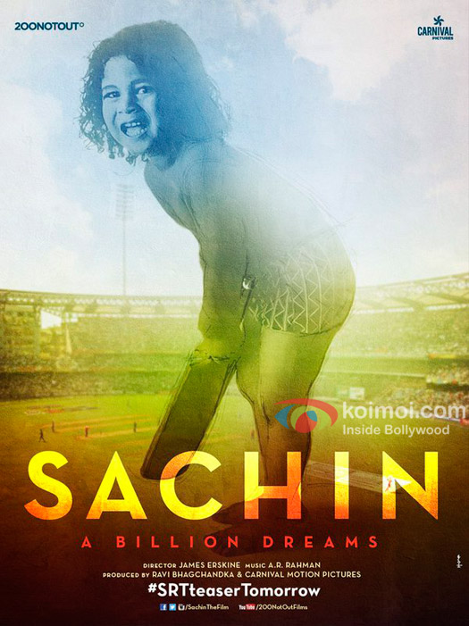 This Poster Of Sachin - A Billion Dreams Will Be The Cutest Thing You Will See Today!
