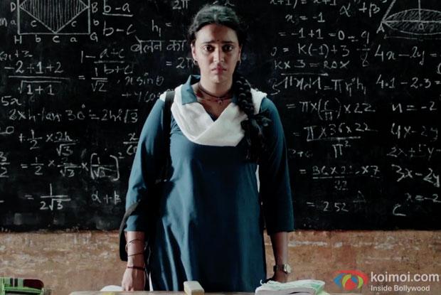 Swara Bhaskar in a still from movie Nil Battey Sannata