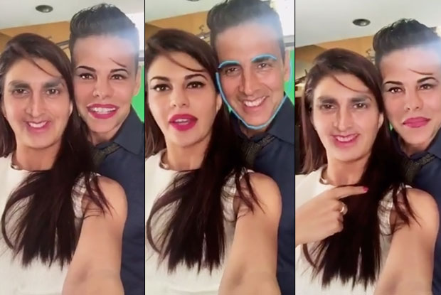 Housefull 3: Watch Akshay-Jacqueline's Funny Face Swap Video