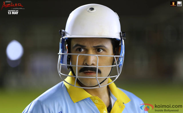 Emraan Hashmi in a still from movie 'Azhar'