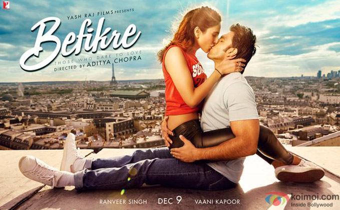 Befikre's Second Poster Is Out  Catch Ranveer-Vaani's Bindaas Romance