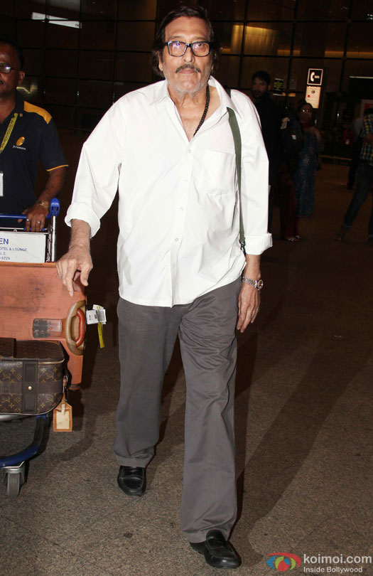 Vinod Khanna Spotted At Airport