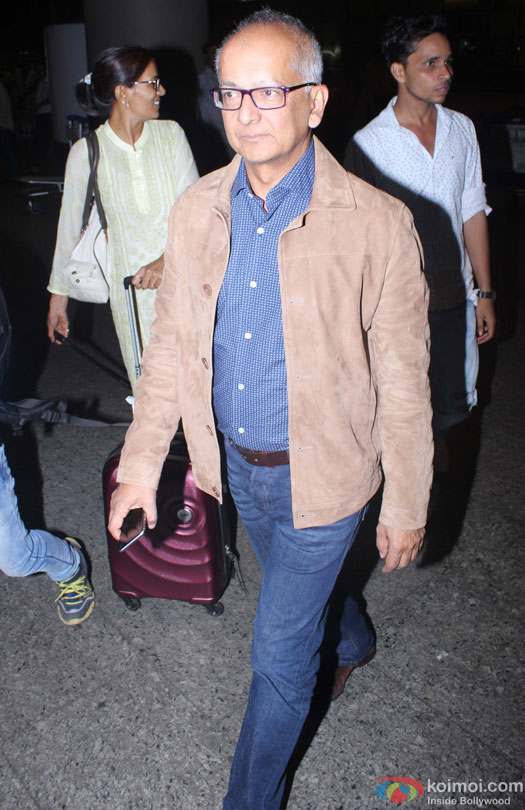 Jay Mehta Spotted At Airport