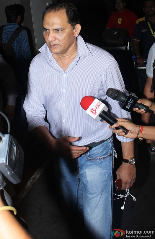 Mohammad Azharuddin Spotted At Airport