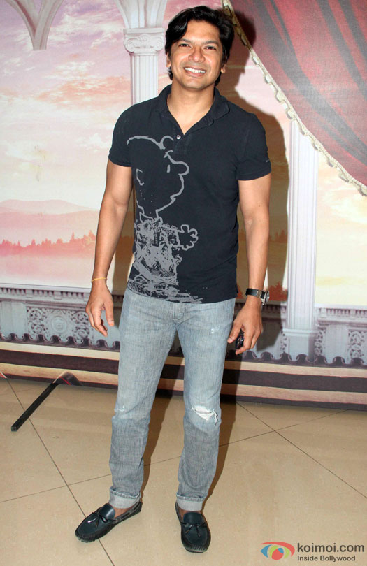 Shaan during the Disney's 'Beauty And The Beast' Musical Event
