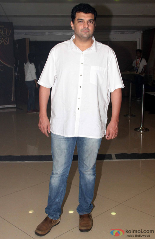 Siddharth Roy Kapur during the Disney's 'Beauty And The Beast' Musical Event