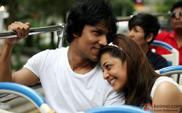 Randeep Hooda and Kajal Aggarwal in a still from movie Do Lafzon Ki Kahani