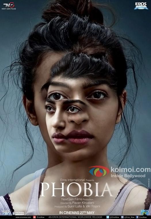 Radhika Apte in Phobia poster