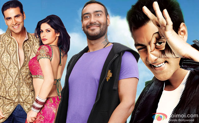 stills from movie 'Housefull 2', 'Golmaal 3' and 'Ready'