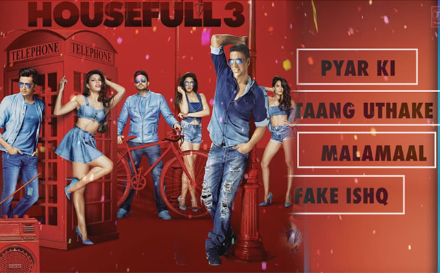 Housefull 3 Audio Jukebox Is Out! Enjoy It Here