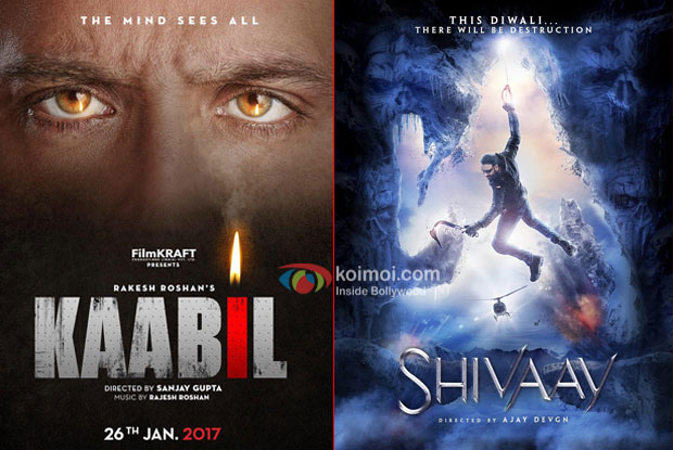 Hrithik Roshan's Kaabil Or Ajay Devgn's Shivaay? Vote For The Best First Look!