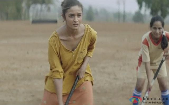 Alia Bhatt in a still from movie Udta Punjab