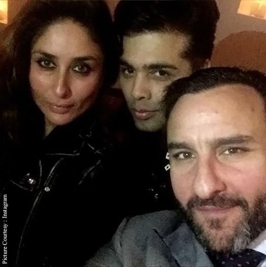 Karan Johar celebrated his birthday with Kareena Kapoor Khan and Saif Ali Khan