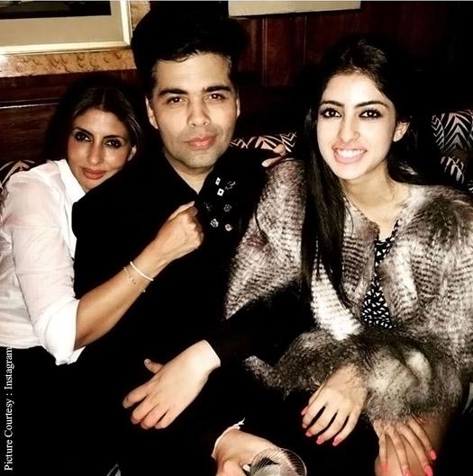 Karan Johar enjoying his birthday with his friends