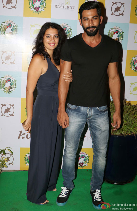 Vivan Bhatena during the Launch of Cafe Basilico